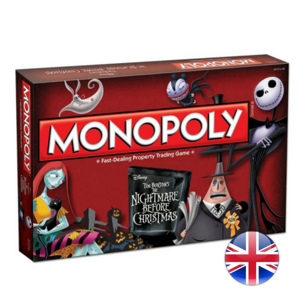 USAopoly Monopoly Nightmare Before Christmas