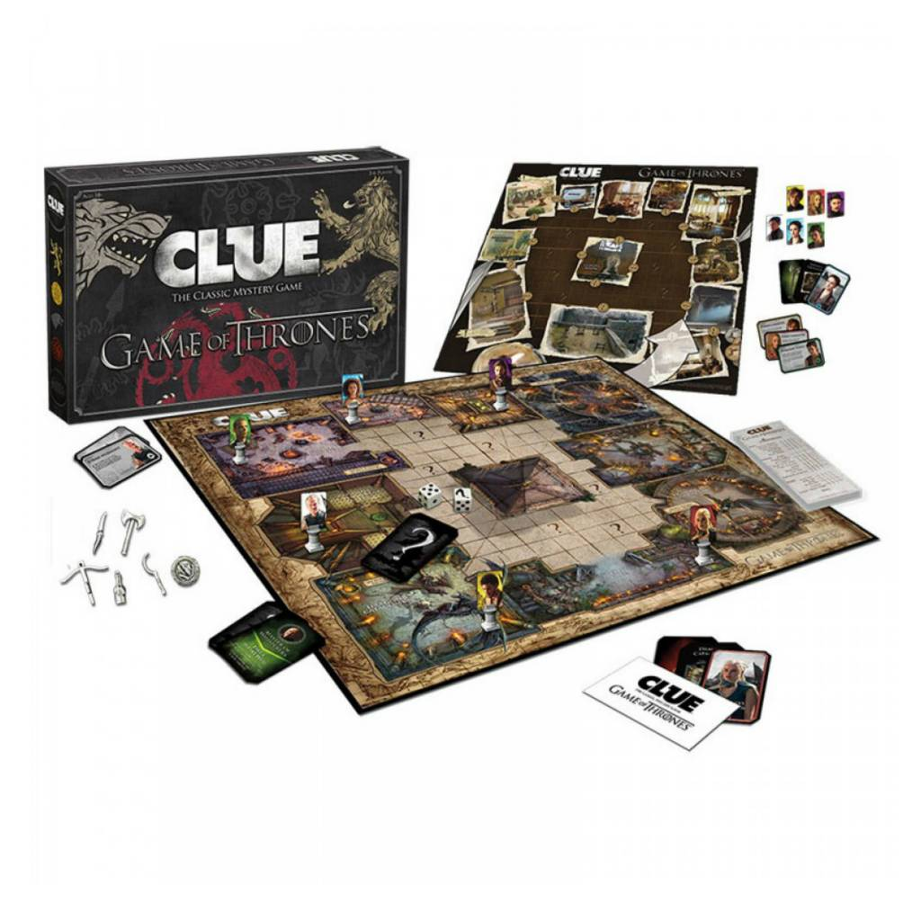 USAopoly Clue Game of Thrones