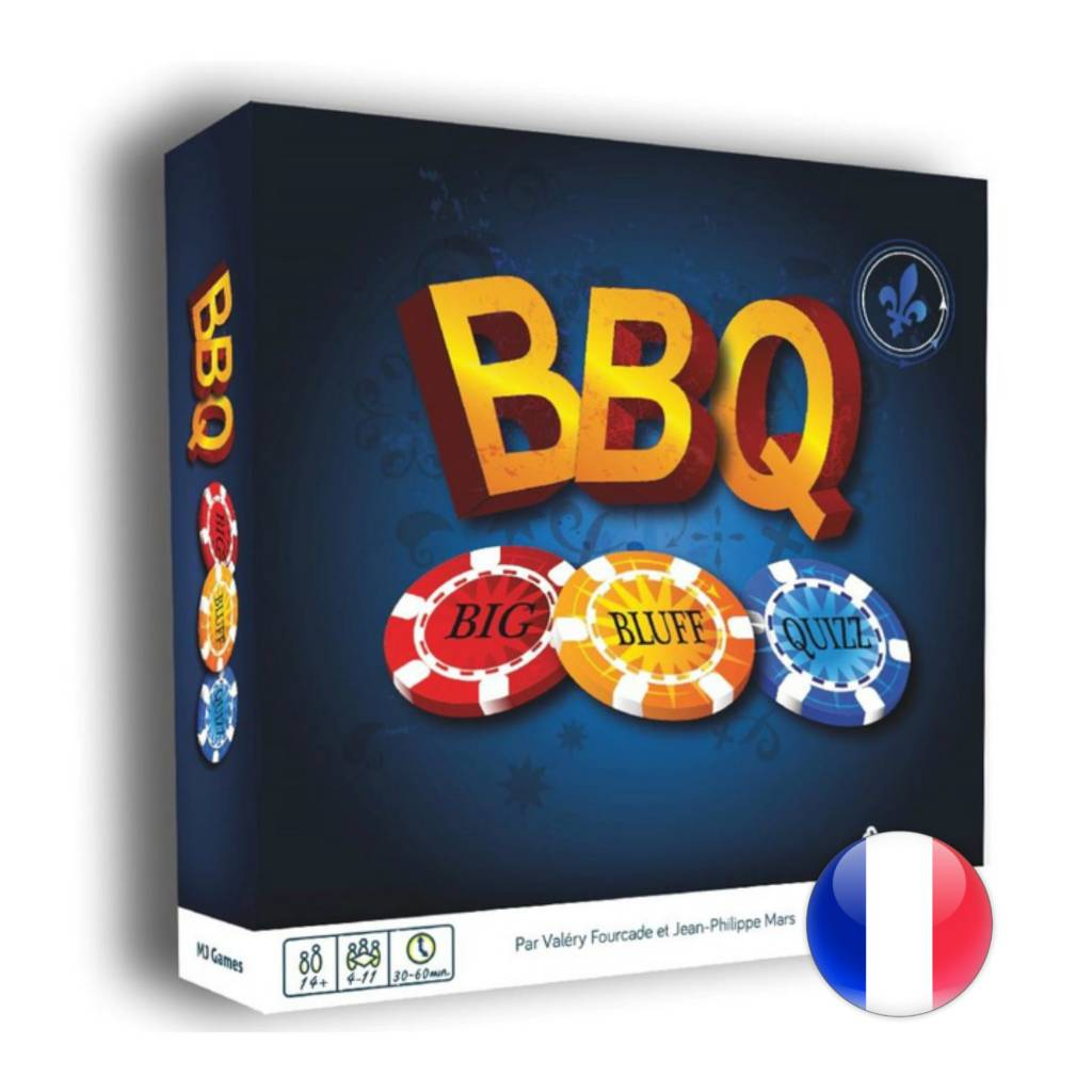 MJ Games Big Bluff Quizz BBQ
