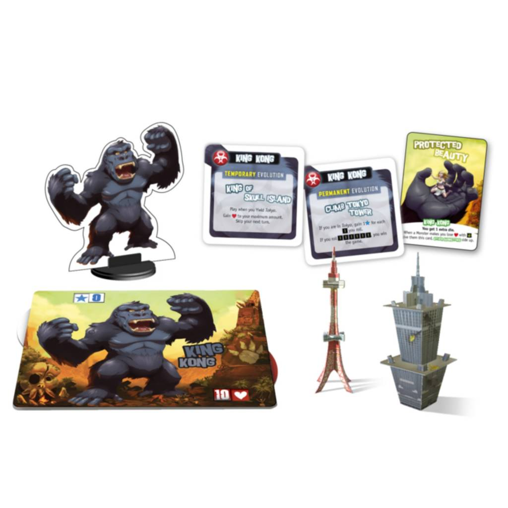 IELLO King Of Tokyo: King Kong Monster Pack