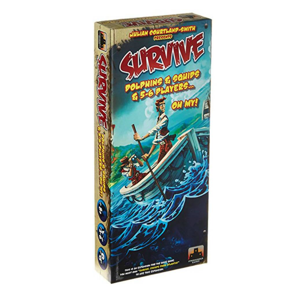 Stronghold Games Survive dolphins/squids& 5-6 players