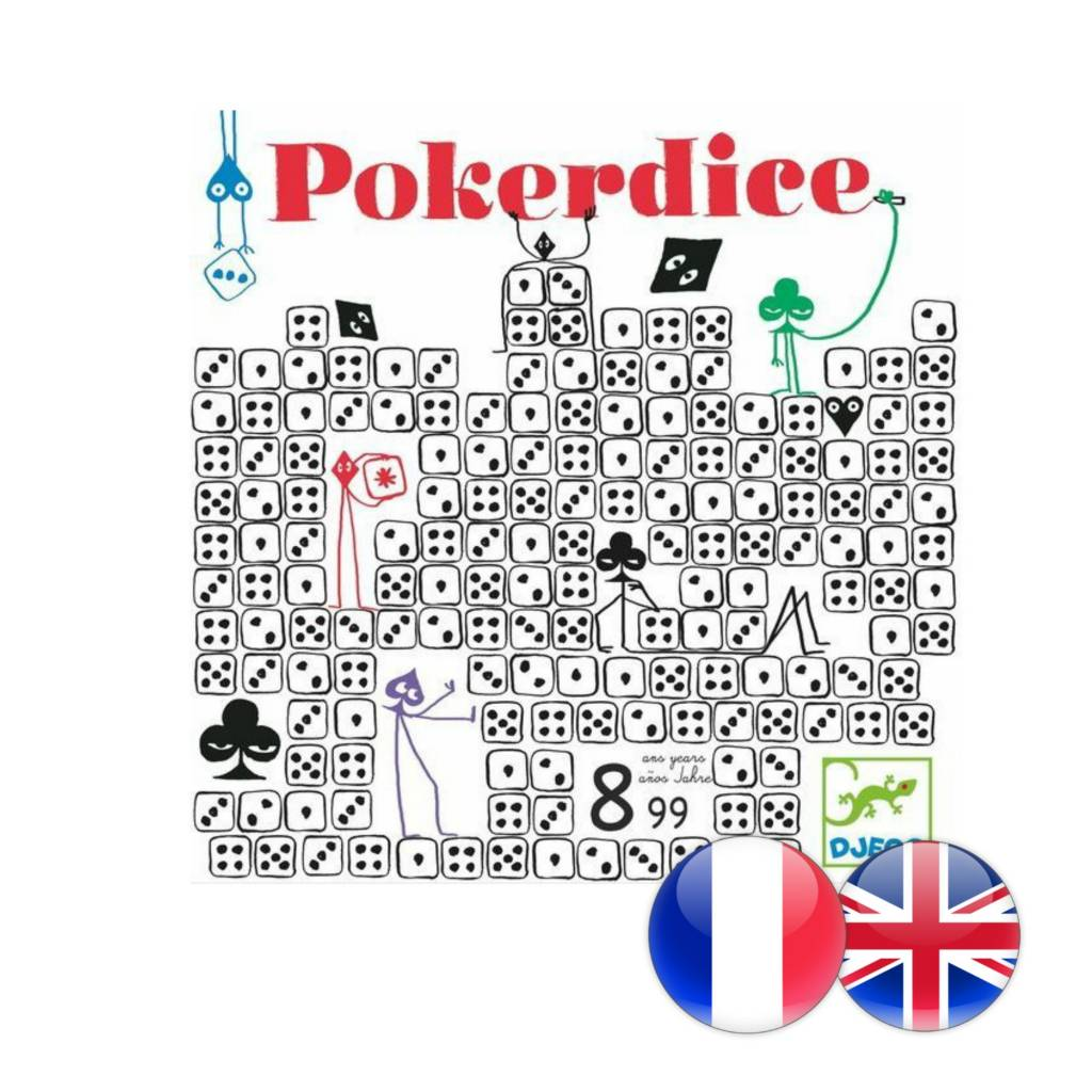 Djeco Poker Dice
