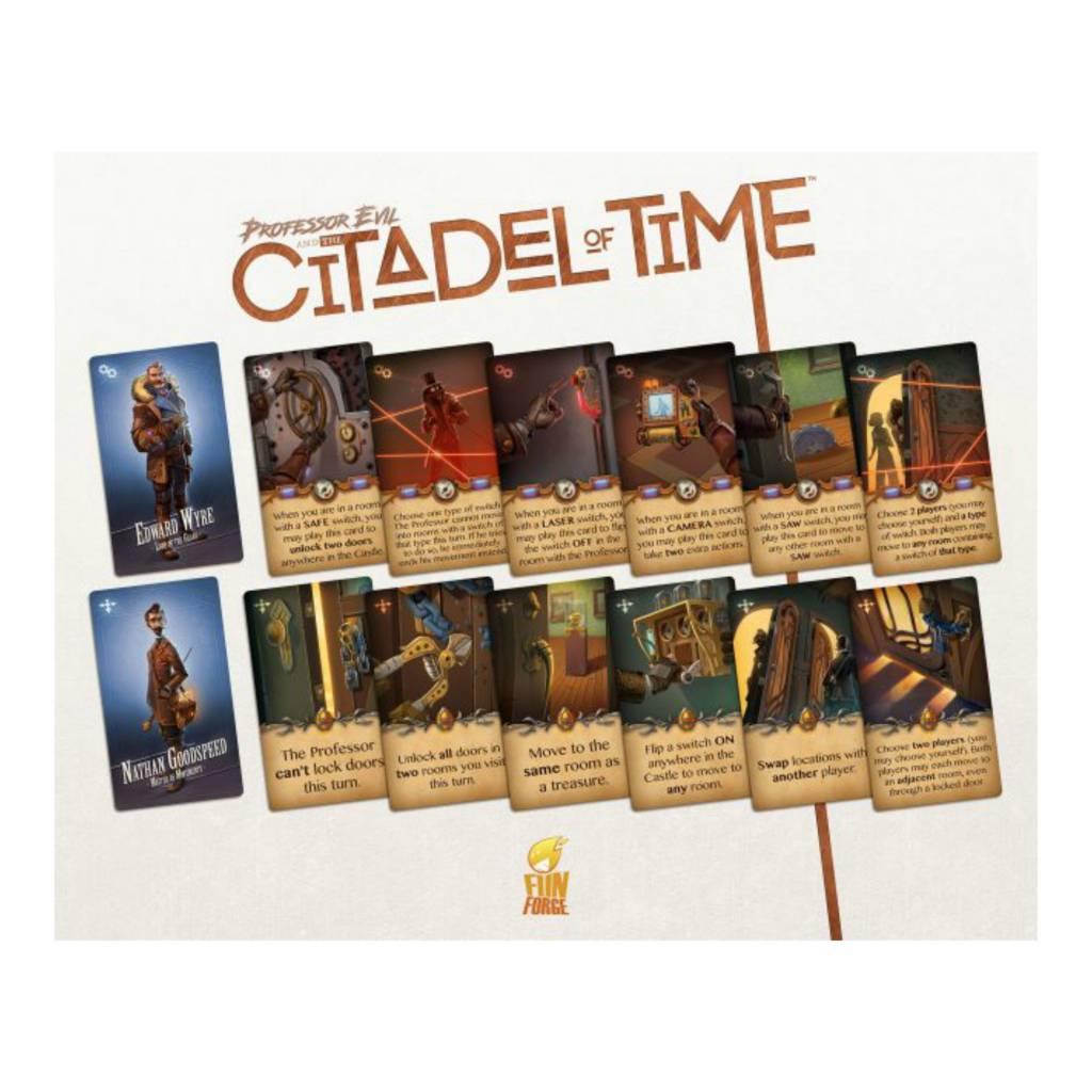 White Goblin Games Professor Evil and The Citadel of Time