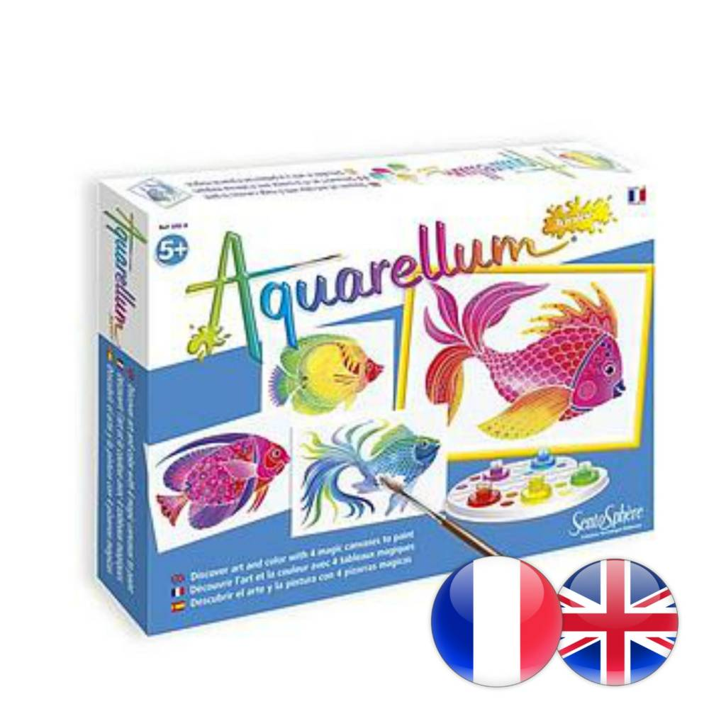 Aquarellum: Magic Canvas Junior Fish