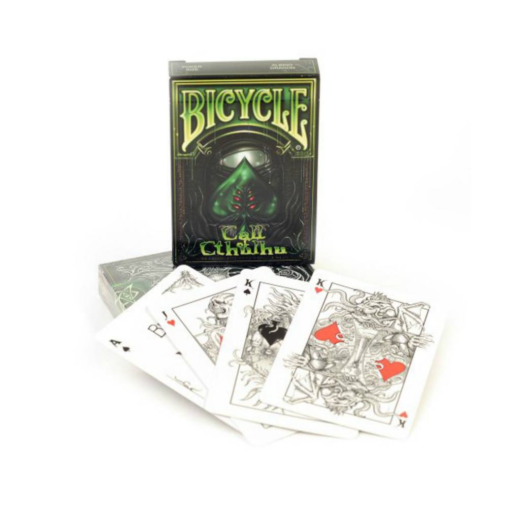 Bicycle Bicycle Call of Cthulhu Playing Cards