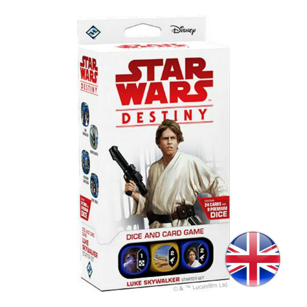 Fantasy Flight Games Star Wars Destiny : Luke Skywalker Starter Set