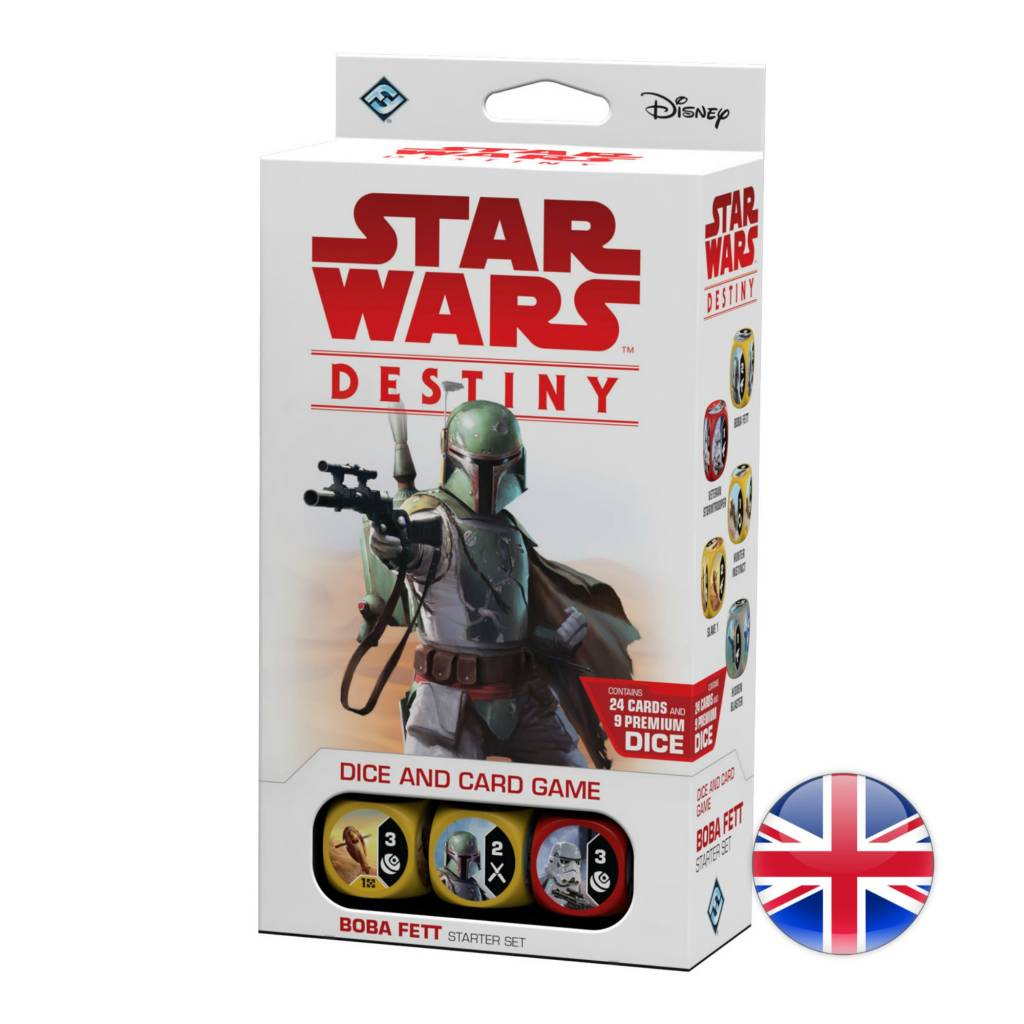 Fantasy Flight Games Star Wars Destiny : Boba Fett Starter Set
