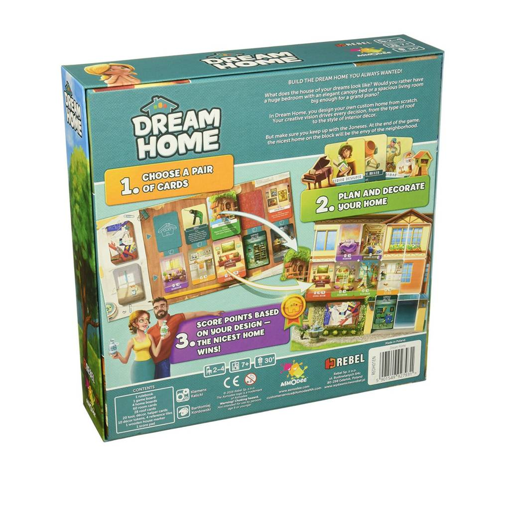 Asmodee Dream Home (VA)