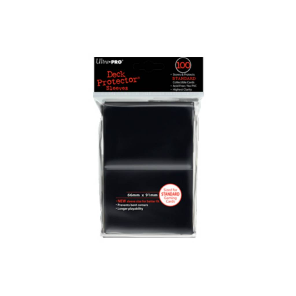 Ultra Pro Sleeves Deck Protector Black (100)