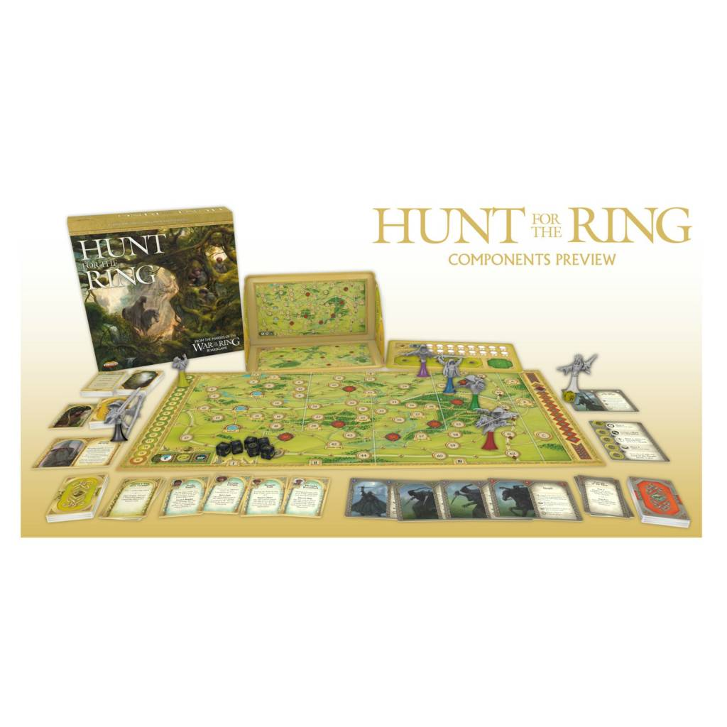 Ares Games Lord of the Rings: Hunt for the Ring