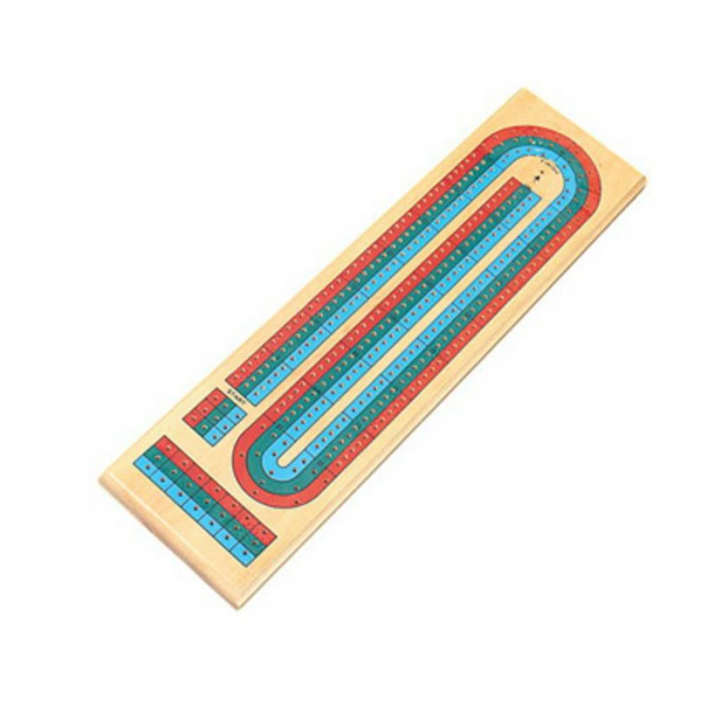 Autruche Planche de cribbage 3 couleurs