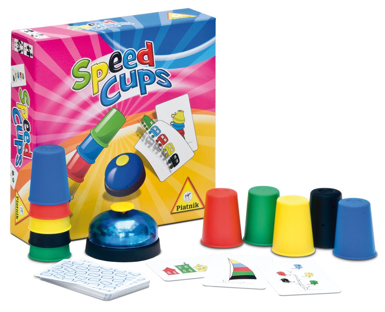 Speed Cups Jeu pour enfants et jeu d'ambiance