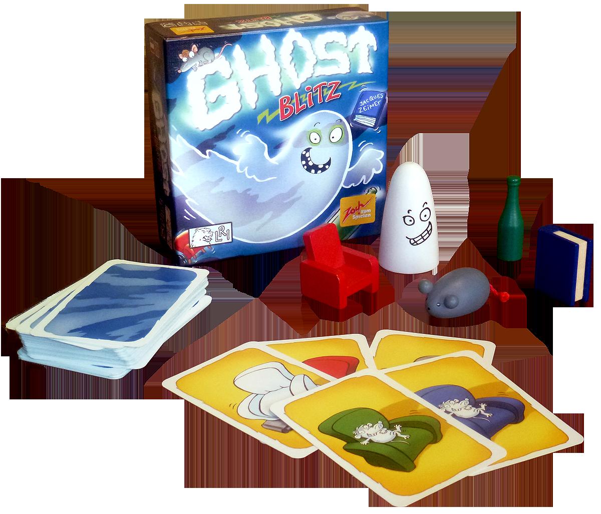 Jeu pour enfant et jeu d'ambiance Ghost Blitz