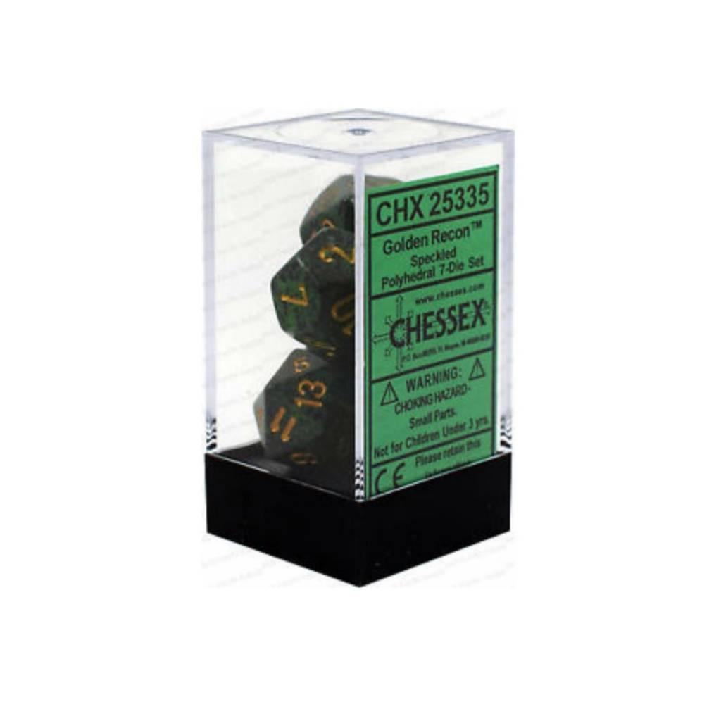 Chessex Chessex 7D: Speckled Golden Reckon