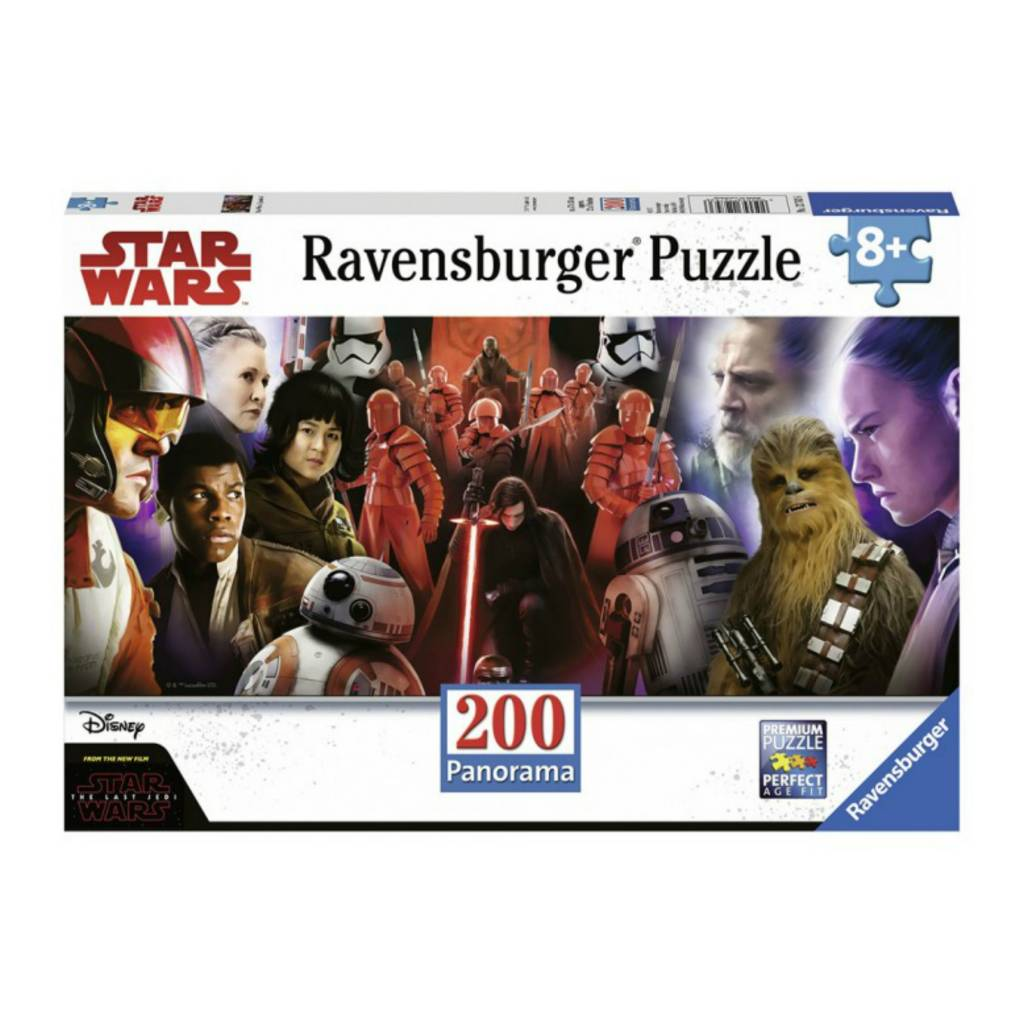 Ravensburger Puzzle 200: Star Wars Episode 8 Panorama