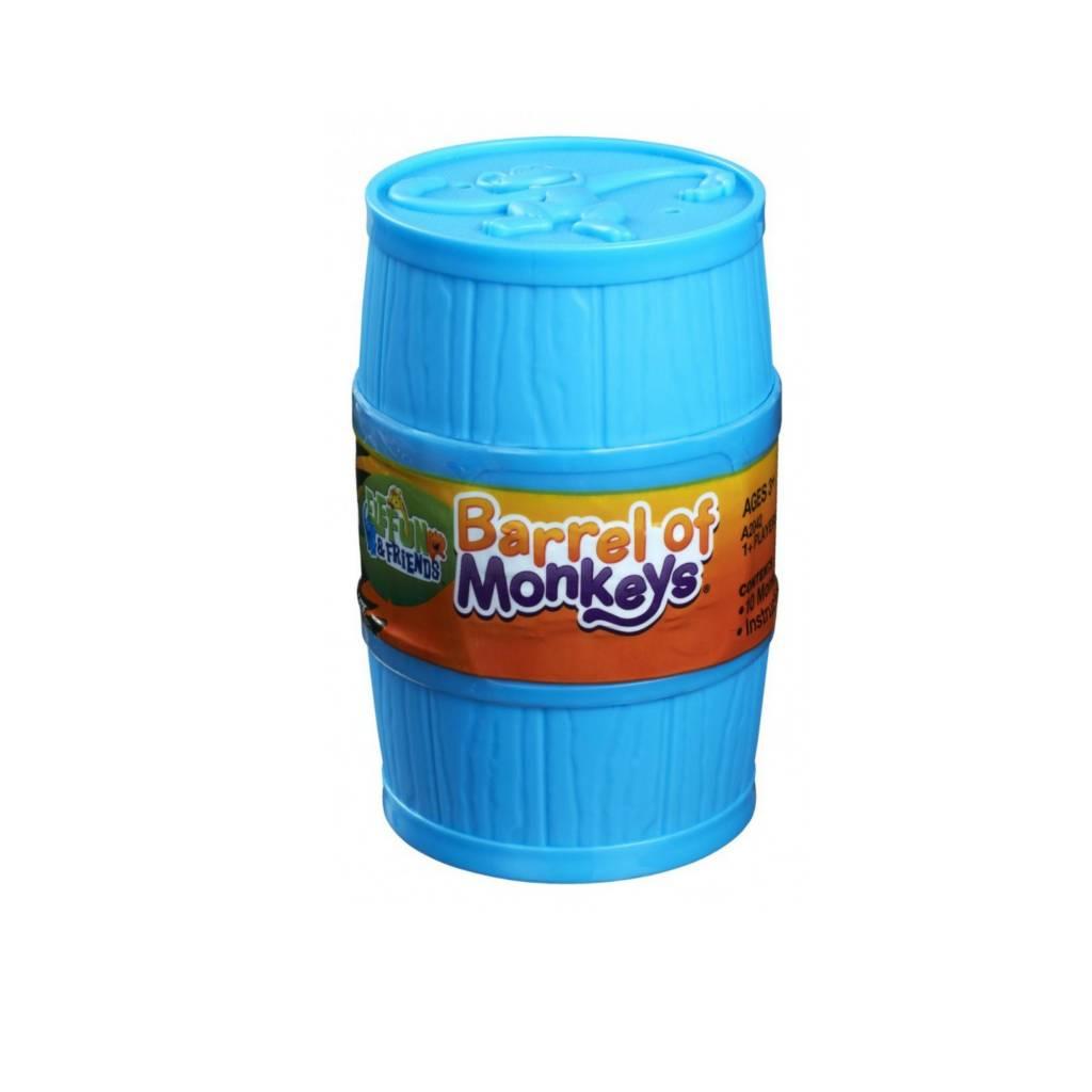 Hasbro Games Jeu Baril de singes Elefun et ses amis bleu