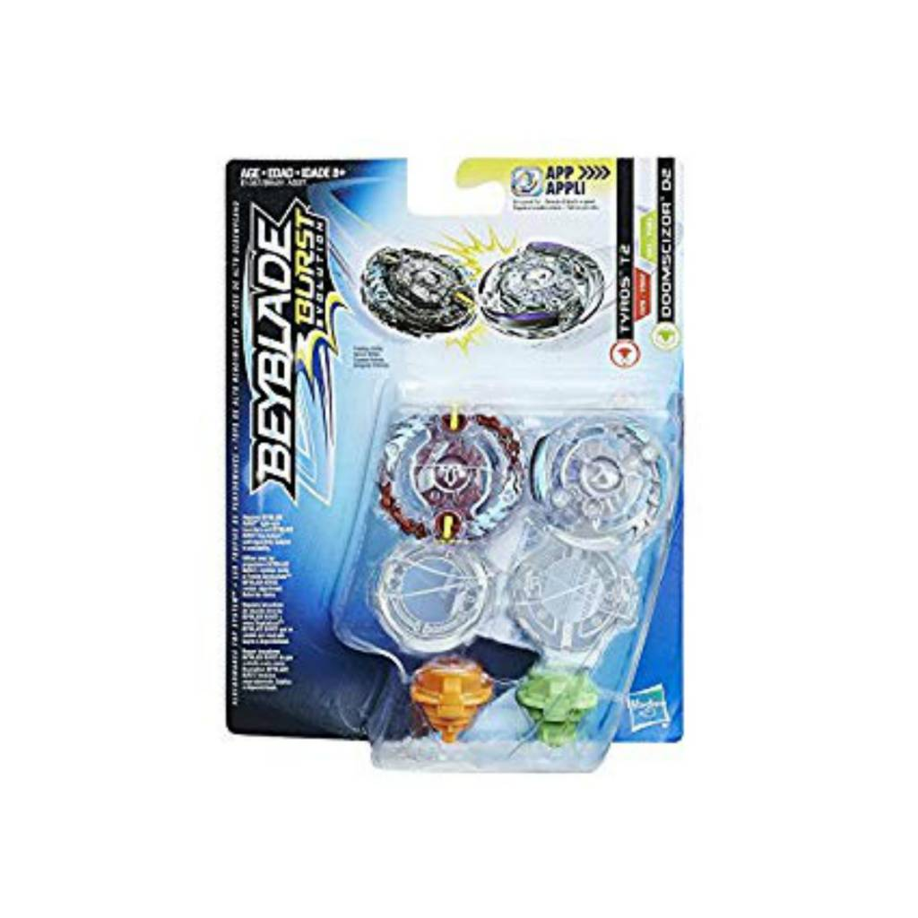 Hasbro Games Beyblade Ensemble Duel T2 vs D2