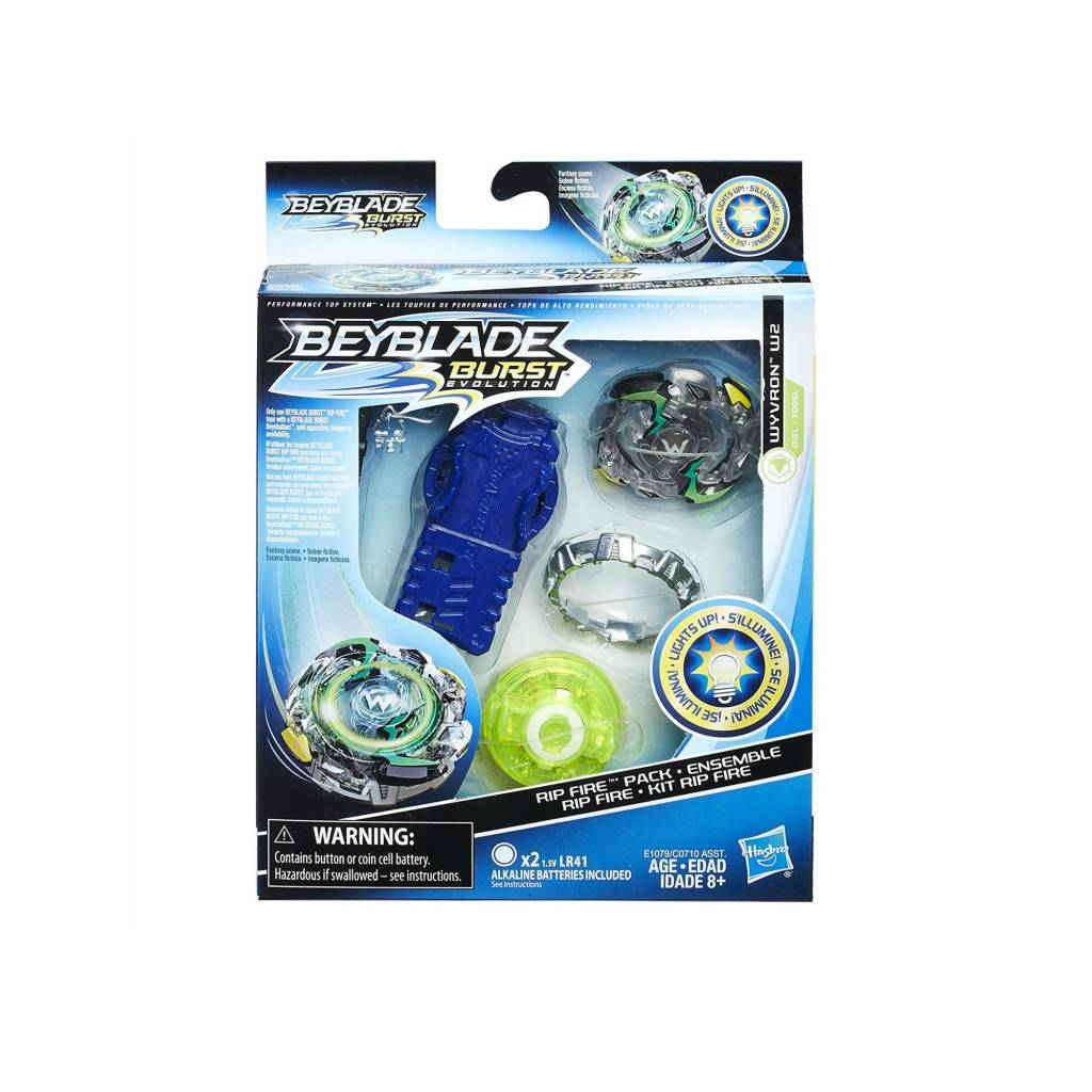 Hasbro Games Beyblade Burst Evolution - Ensemble départ Rip Fire Wyvron W2
