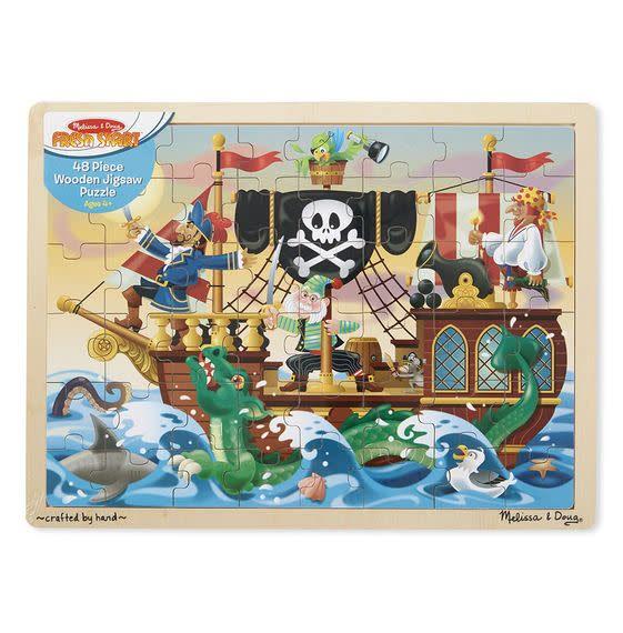 Melissa & Doug Puzzle 48: Pirate Adventure