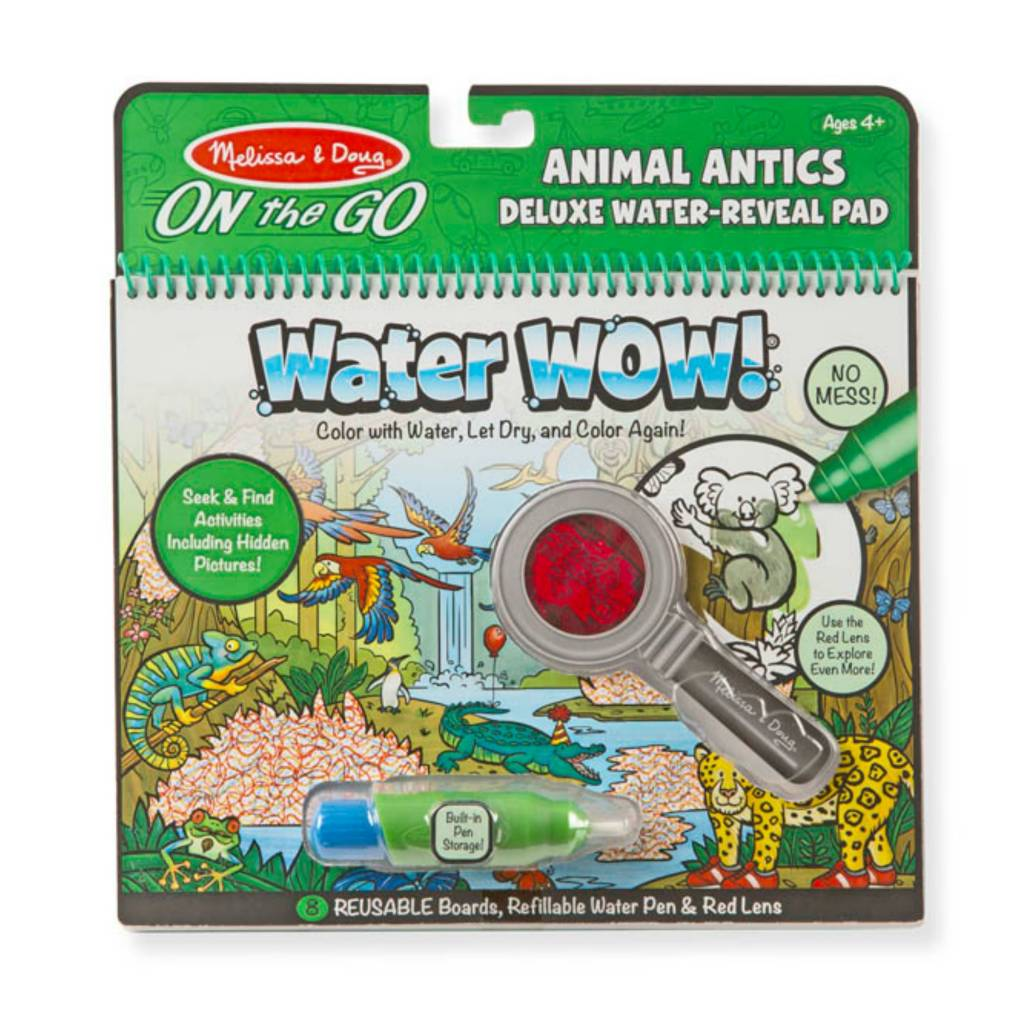 Melissa & Doug Water Wow! Deluxe - Animal Antics