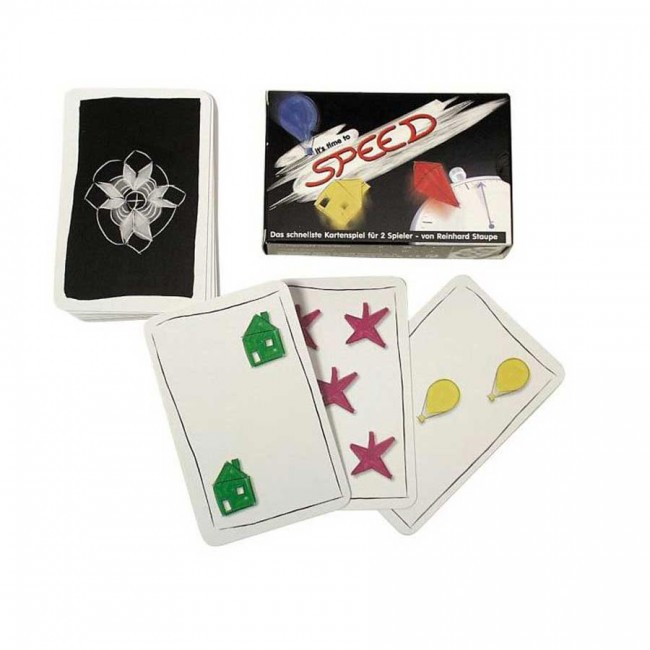 Jeu de cartes speed rapidité