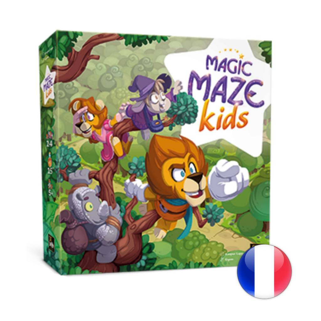 Sit Down! Games Magic Maze Kids