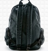 L'Oréal Paris Black leather backpack
