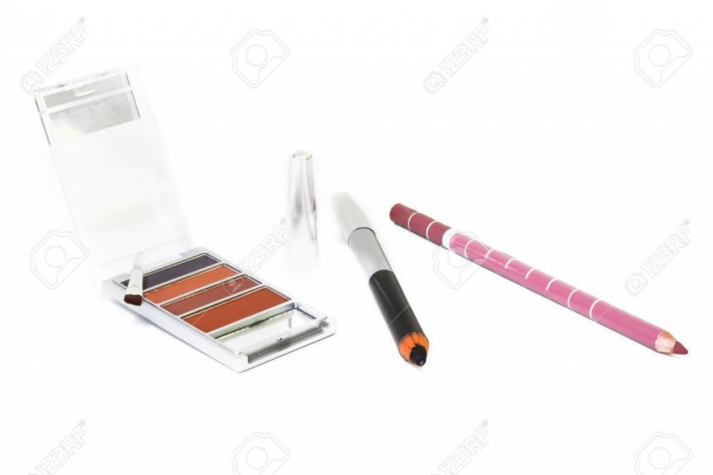 Eyes Lips Face Make-up mit Pinsel und Kosmetikstift