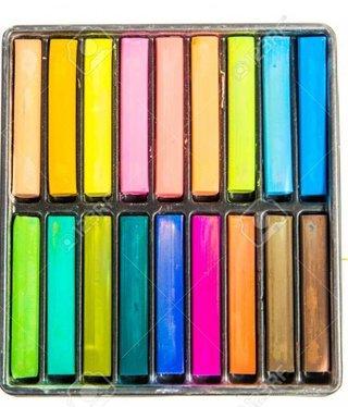 Eyes Lips Face Vaus Farben Kreide für die Haarfarbe