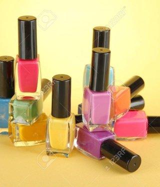 Nagellack-Farbtöne Set
