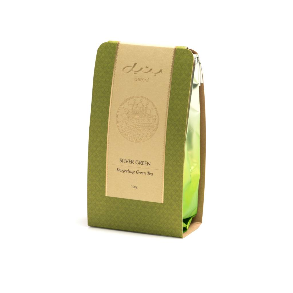 Bateel USA SILVER GREEN TEA