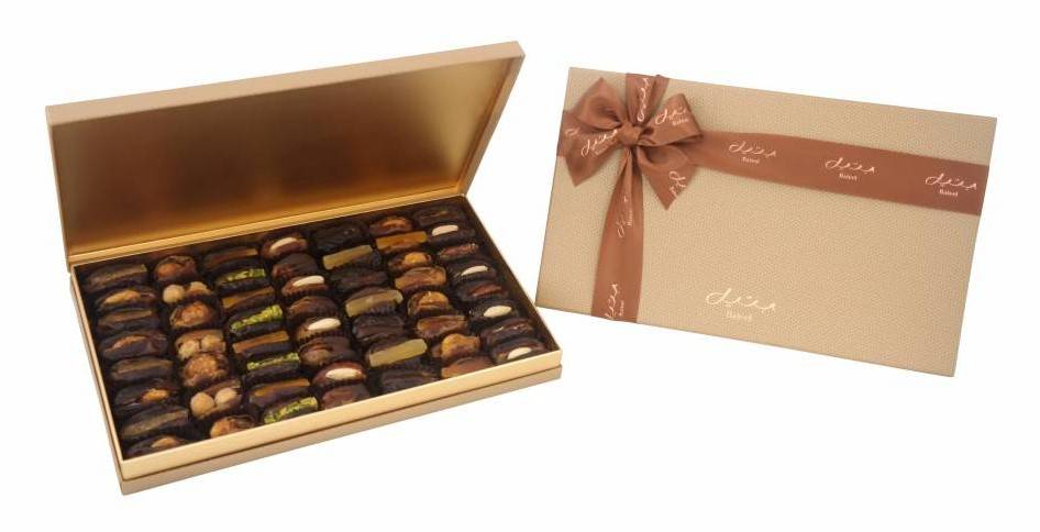 Bateel USA Simone Gift Box with Gourmet Dates