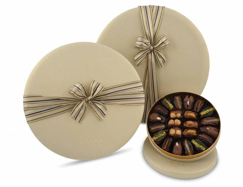 Bateel USA Merlene Gift Box with Gourmet Dates