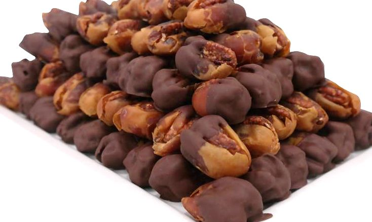 Bateel USA Kholas Dates Dark Chocolate Caramelized Pecan