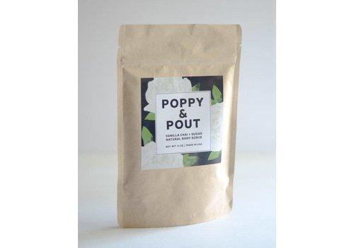 Vanilla Chai+Sugar Body Scrub by Poppy & Pout