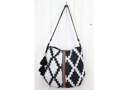 Aztec Carpet Bag with Tassels