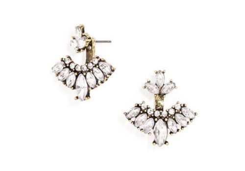 Glass Crystal Earring Jackets
