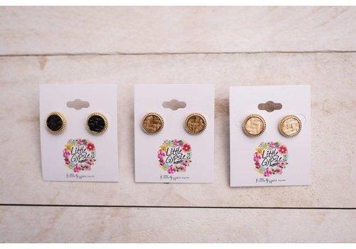 Cork Earrings-3 Color Choices