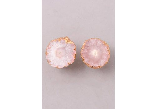 Natural Stone Earrings - 2 Color Options