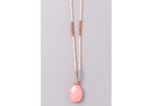 Summer Sunset Natural Stone Necklace