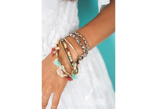 Boho Beach Gypsie Layered Bracelet