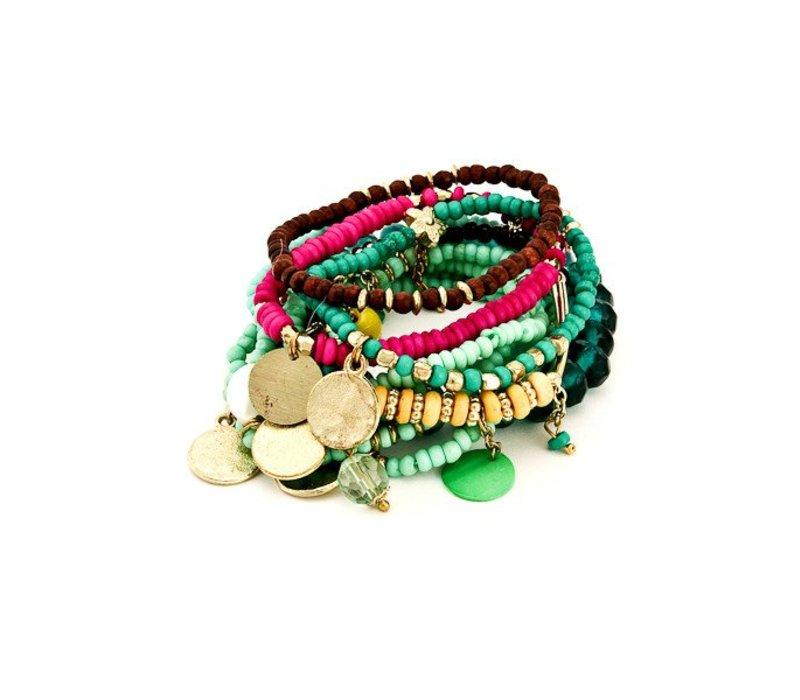 Mermaid Bracelet Stack