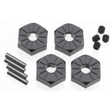 Axial AX30427 -  Axial Aluminum Hub Narrow 12mm Black (4) SCX 10