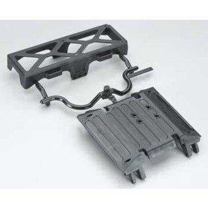 Axial AX80079 - Axial Tube Frame Skid Plate Battery Tray Wraith