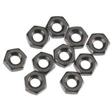 Axial AXA1040 - Axial Thin Hex Nut M3 Black (10)