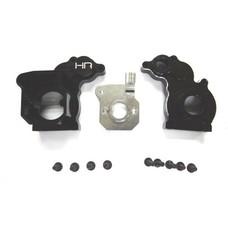Hot Racing WRA3801 - Hot Racing Aluminum Center Gear Case Wraith - Black