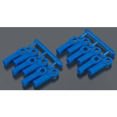 RPM R/C Products RPM80515 - RPM Products Traxxas Rod Ends Long Blue