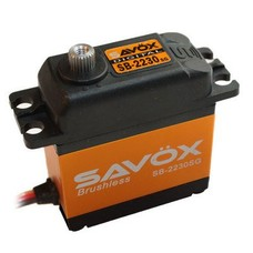 Savox SB-2230SG - Savox High Voltage Monster Torque Brushless Tall Steel Gear Digital Servo