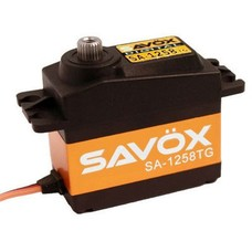 Savox SA1258TG - Savox Standard Size Coreless Digital Servo .08:166 Minimized Backlash