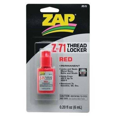 ZAP PAAR2271 - ZAP PT71 Red Thread Locker .20 oz